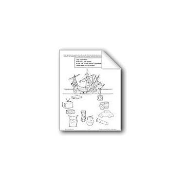 Evan-Moor Educational Publishers Christopher Columbus Activities Workbook, Preschool - Grade 1 [eBook]
