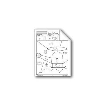 Evan-Moor Educational Publishers Color The Puzzle Workbook, Grade 1 - Grade 3 [eBook]