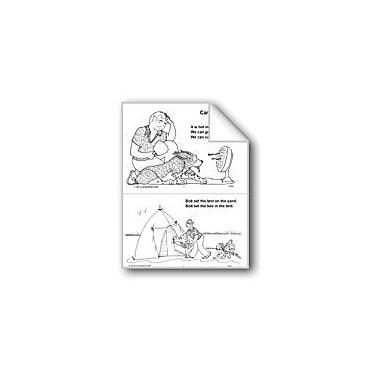 Evan-Moor Educational Publishers Short Vowel Stories: Camp Workbook, Grade 1 - Grade 3 [eBook]