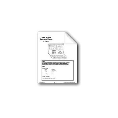 Evan-Moor Educational Publishers Geometric Shapes Workbook, Grade 1 - Grade 6 [eBook]