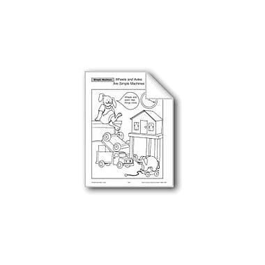 Evan-Moor Educational Publishers Simple Machines: Wheels And Axles Workbook, Grade 2 - Grade 4 [eBook]
