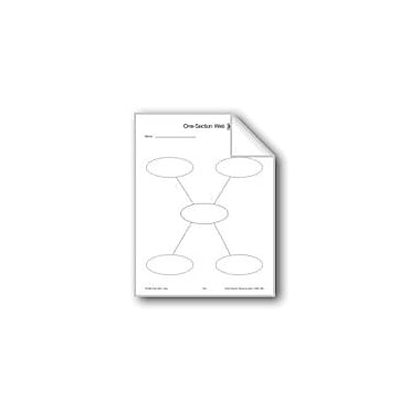 Evan-Moor Educational Publishers Graphic Organizers: Webs Workbook, Grade 2 - Grade 6 [eBook]