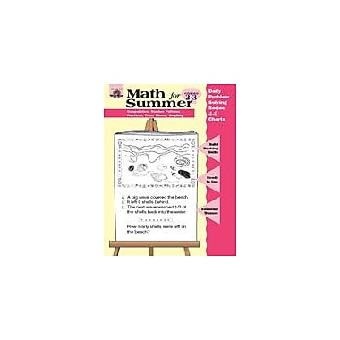 Evan-Moor Educational Publishers Daily Problem Solving: Math For Summer, Grades 2-3 Workbook [Enhanced eBook]