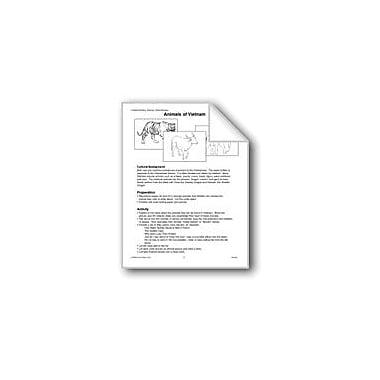 Evan-Moor Educational Publishers Vietnam: Animals Workbook, Grade 1 - Grade 4 [eBook]