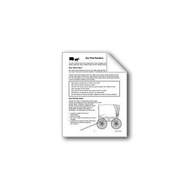 Evan-Moor Educational Publishers My State: First Pioneers Workbook, Grade 3 - Grade 6 [eBook]