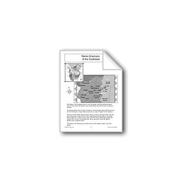 Evan-Moor Educational Publishers Native Americans Of The Southwest Workbook, Grade 1 - Grade 3 [eBook]