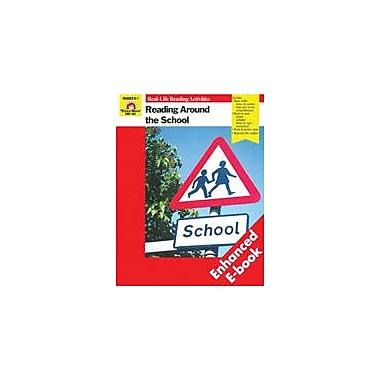 Evan-Moor Educational Publishers Reading Around The School Workbook, Kindergarten - Grade 1 [Enhanced eBook]
