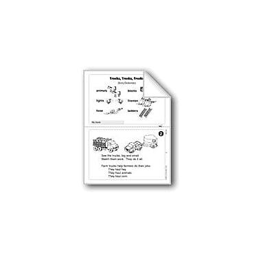 Evan-Moor Educational Publishers Trucks, Trucks, Trucks Workbook, Grade 1 [eBook]