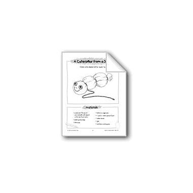 Evan-Moor Educational Publishers Caterpillar From A Sock Workbook, Kindergarten - Grade 1 [eBook]