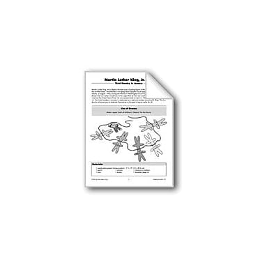 Evan-Moor Educational Publishers Martin Luther King, Jr., Day Paper Chain Workbook, Grade 1 - Grade 5 [eBook]