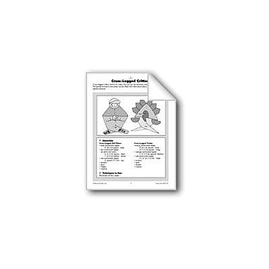 Evan-Moor Educational Publishers Cross-Legged Critters Workbook, Grade 1 - Grade 6 [eBook]