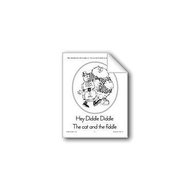 Evan-Moor Educational Publishers Sequencing: Hey Diddle Diddle Workbook, Kindergarten - Grade 2 [eBook]