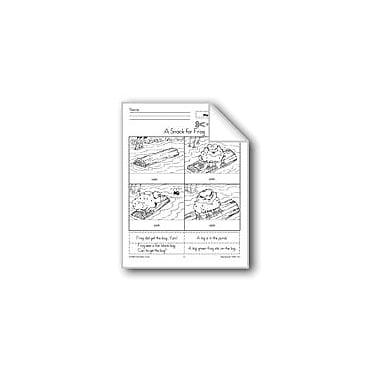 Evan-Moor Educational Publishers A Snack For Frog (Pictures And Words) Workbook, Kindergarten - Grade 2 [eBook]