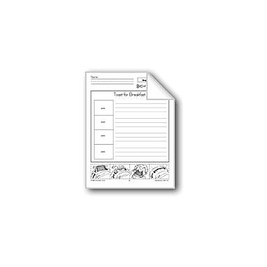 Evan-Moor Educational Publishers Toast For Breakfast (Sequence And Write) Workbook, Kindergarten - Grade 2 [eBook]