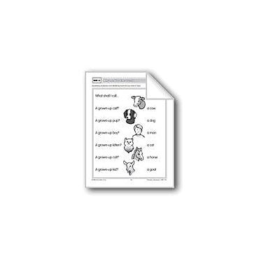 Evan-Moor Educational Publishers What Shall I Call... (Parts Of A Word) Workbook, Preschool - Grade 1 [eBook]