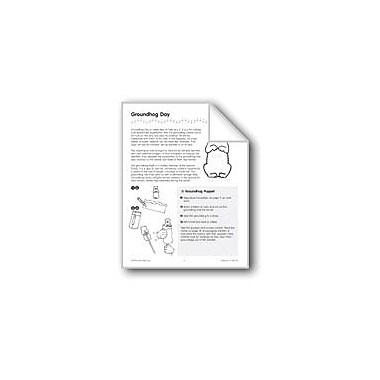 Evan-Moor Educational Publishers Groundhog Day Workbook, Kindergarten - Grade 3 [eBook]