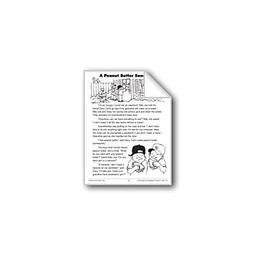 Evan-Moor Educational Publishers A Peanut Butter Sandwich Workbook, Grade 2 [eBook]