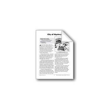 Evan-Moor Educational Publishers City Of Mystery Workbook, Grade 4 - Grade 6 [eBook]