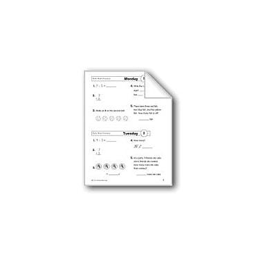 Evan-Moor Educational Publishers Daily Math Practice (Grade 2, Week 1) Workbook, Grade 2 [eBook]