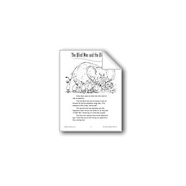 Evan-Moor Educational Publishers The Blind Men And The Elephant Workbook, Grade 1 - Grade 2 [eBook]
