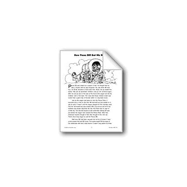 Evan-Moor Educational Publishers How Pecos Bill Got His Name Workbook, Grade 4 - Grade 6 [eBook]
