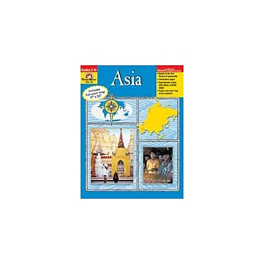 Evan-Moor Educational Publishers Geography Units, Asia Workbook, Grade 3 - Grade 6 [Enhanced eBook]