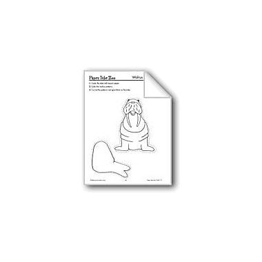 Evan-Moor Educational Publishers Ocean Paper Tube Animals: Octopus, Walrus Workbook, Preschool - Grade 3 [eBook]