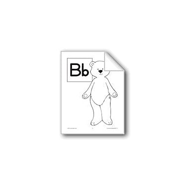 Evan-Moor Educational Publishers Teaching The Letter: Bb Workbook, Preschool - Grade 1 [eBook]