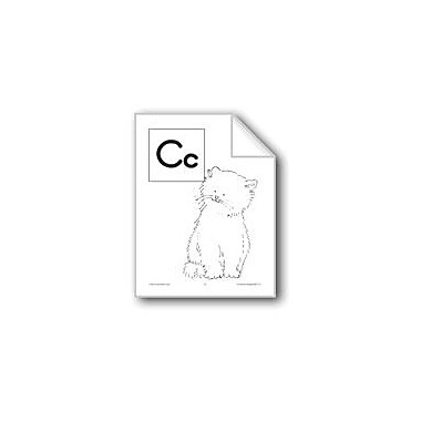 Evan-Moor Educational Publishers Teaching The Letter: Cc Workbook, Preschool - Grade 1 [eBook]