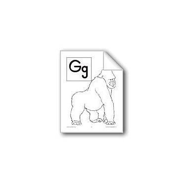 Evan-Moor Educational Publishers Teaching The Letter: Gg Workbook, Preschool - Grade 1 [eBook]