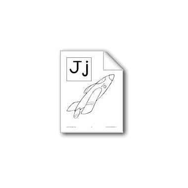 Evan-Moor Educational Publishers Teaching The Letter: Jj Workbook, Preschool - Grade 1 [eBook]