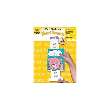 Evan-Moor Educational Publishers Word Machines, Short Vowels, Grades 1-3 Workbook, Grade 1 - Grade 3 [Enhanced eBook]