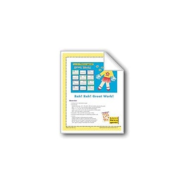 Evan-Moor Educational Publishers Rah! Rah! Great Work! (Bulletin Board) Workbook, Kindergarten - Grade 6 [eBook]