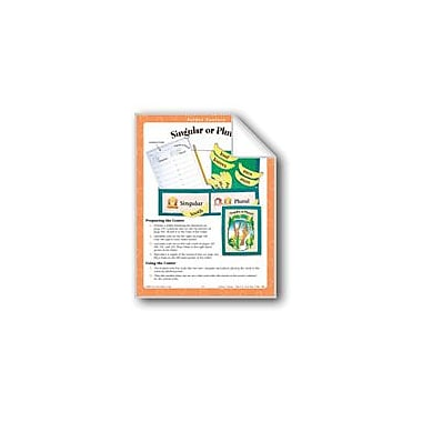 Evan-Moor Educational Publishers Singular Or Plural? (File Folder Center) Workbook, Grade 1 - Grade 3 [eBook]