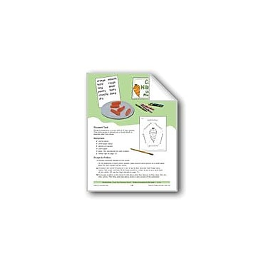 Evan-Moor Educational Publishers Carrot Nibbles: Using My Five Senses Workbook, Grade 1 - Grade 3 [eBook]