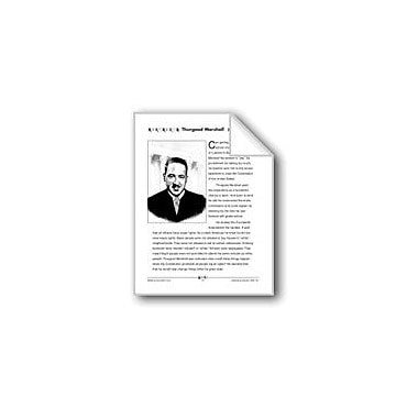 Evan-Moor Educational Publishers Thurgood Marshall Workbook, Grade 3 - Grade 4 [eBook]