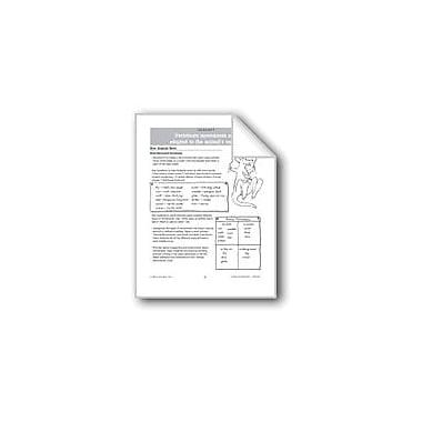 Evan-Moor Educational Publishers Vertebrate Movements Workbook, Grade 1 - Grade 3 [eBook]