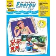 Evan-Moor Educational Publishers Scienceworks For Kids, Grades 1-3, Energy: Heat, Light, & Sound Workbook [Enhanced eBook]