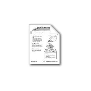 Evan-Moor Educational Publishers My Five Senses--Seeing (Characteristics Of Organisms) Workbook, Kindergarten - Grade 2 [eBook]