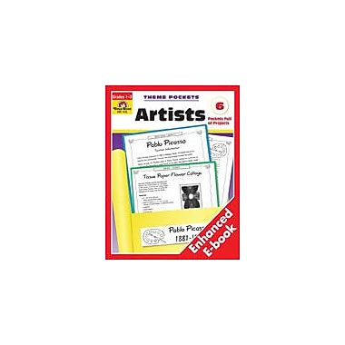 Evan-Moor Educational Publishers Artists Workbook, Grade 1 - Grade 3 [Enhanced eBook]