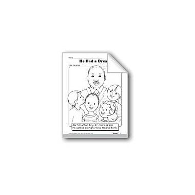 Evan-Moor Educational Publishers Martin Luther King, Jr. Activities Workbook, Preschool - Kindergarten [eBook]