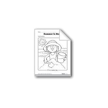 Evan-Moor Educational Publishers Summer Weather Workbook, Preschool - Kindergarten [eBook]