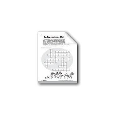 Evan-Moor Educational Publishers Independence Day Symbols Workbook, Grade 3 - Grade 5 [eBook]