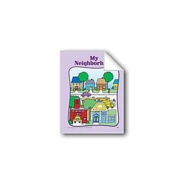 Evan-Moor Educational Publishers All About My Neighborhood: Circle-Time Book Workbook, Preschool - Kindergarten [eBook]
