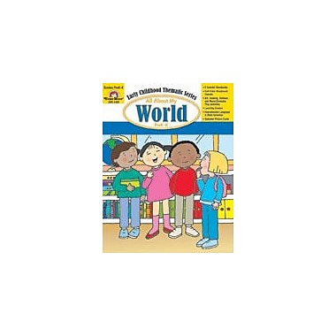 Evan-Moor Educational Publishers All About My World Workbook, Preschool - Kindergarten [Enhanced eBook]