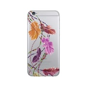 OTM Prints Clear Phone Case, Dancing Feathers Earth - iPhone 7/7S