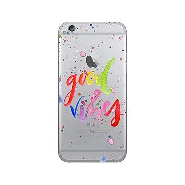 OTM Prints Clear Phone Case, Good Vibes Splatter - iPhone 6/6S