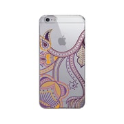 OTM Prints Clear Phone Case, Paisley Purple - iPhone 6 Plus