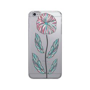 OTM Prints Clear Phone Case, Single Flower - iPhone 6 Plus
