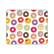 OTM Prints White Mouse Pad, Doughnuts for Days